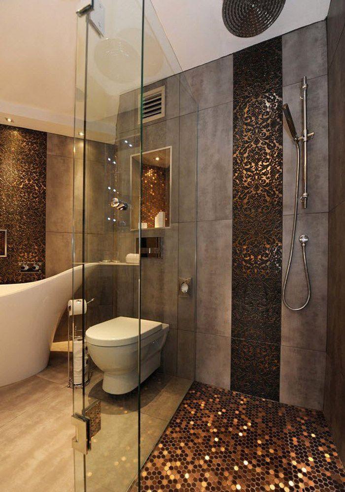Ванная комната плитка с мозаикой дизайн 2017