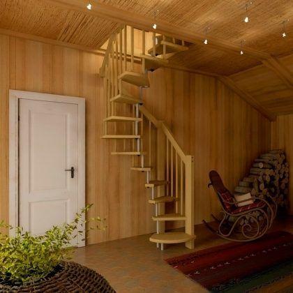 Узкая лестница (менее 1 м)