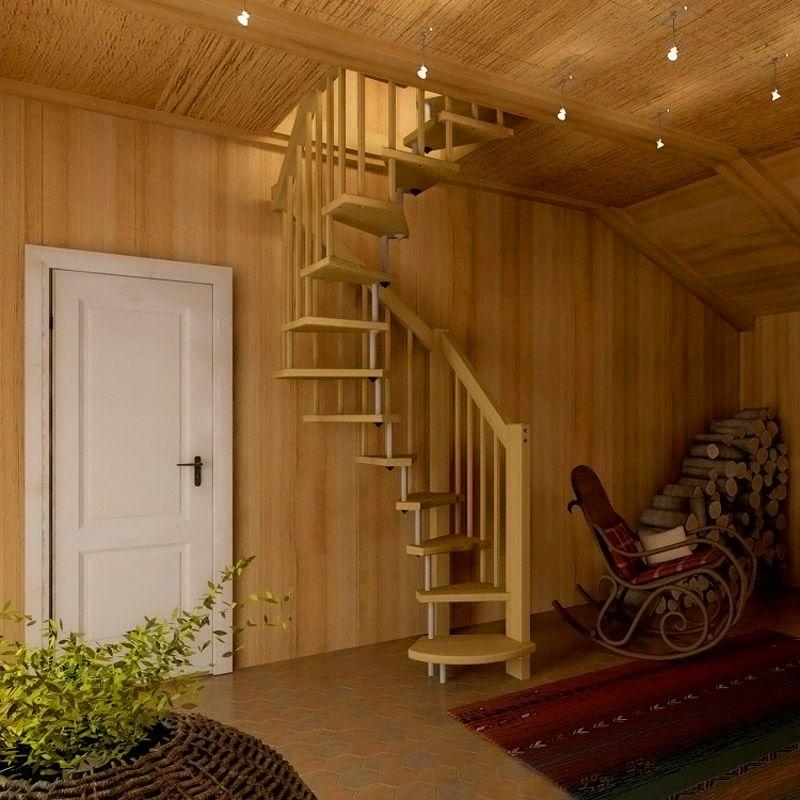 Деревянная лестница на второй этаж своими руками фото 26