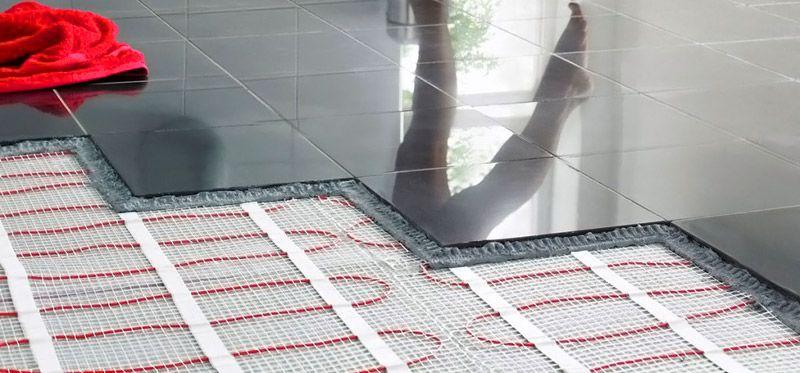 При установке электрических нагревательных элементов толщина слоев напольного покрытия увеличится незначительно