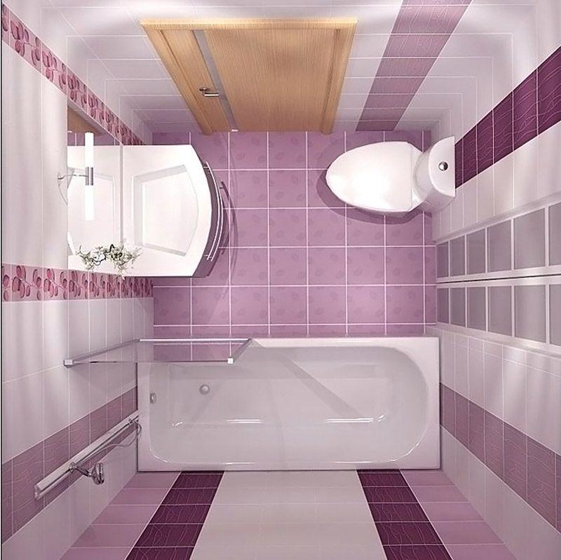 Вид сверху подходит для проектирования ванной комнаты: дизайн, фото, раскладку плитки, сантехнику – все детали можно хорошо изучить