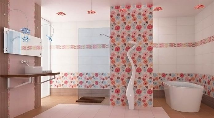 Плитка для ванной комнаты: фото, дизайн и секреты выбора
