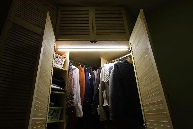 В шкафу будет легче найти нужную вещь