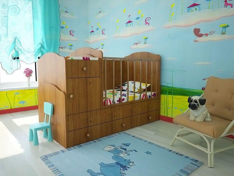 Такая кроватка будет расти вместе с ребёнком