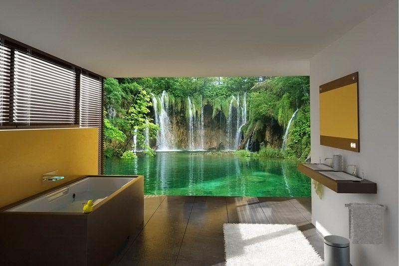 Флизелиновой покрытие можно использовать в ванной