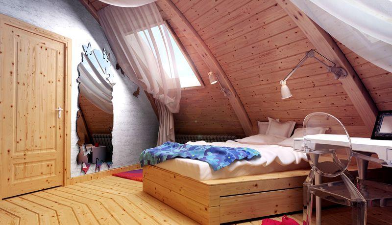 Комната в купольном здании