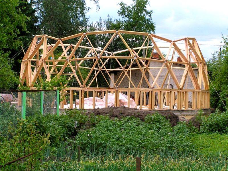 Прочность и устойчивость конструкции зависит каркаса