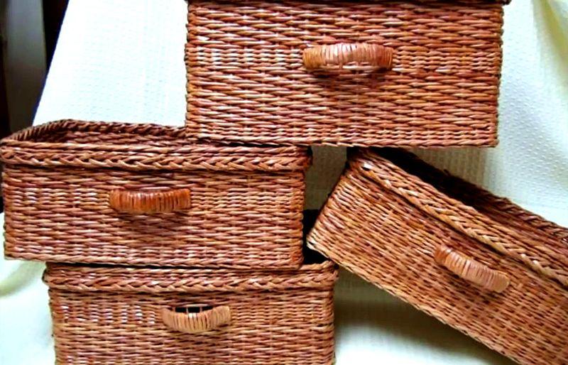16-9 Плетение из газетных трубочек для начинающих пошагово: техника плетения, мастер класс, фото. Плетение корзин, шкатулок, коробок из газет для начинающих: схемы, загибы, фото