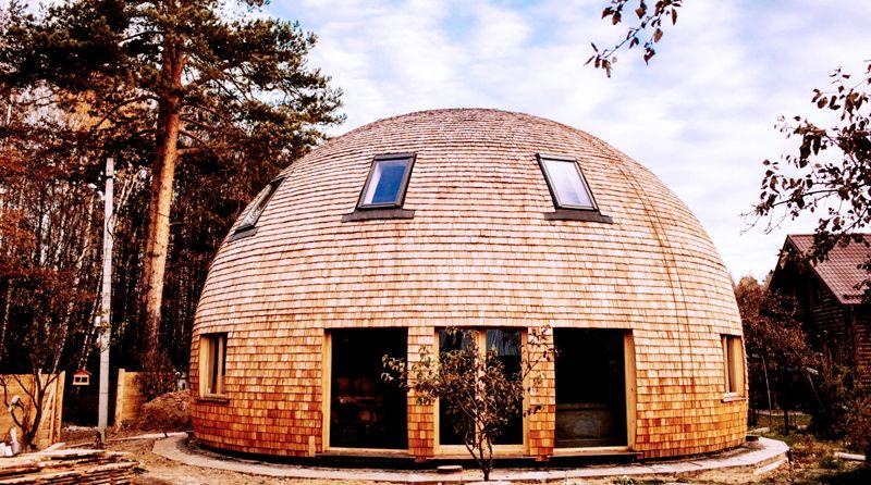 Архитектурные формы древних времен в новом исполнении могут предстать в совершенно неожиданных решениях