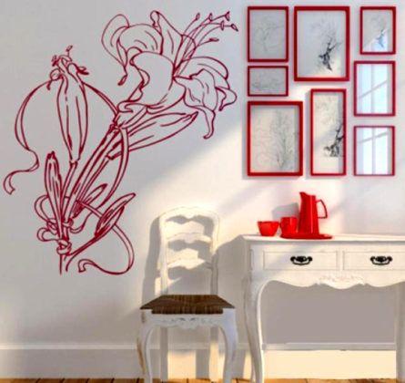 Трафареты для стен под покраску: популярные разновидности и нюансы применения