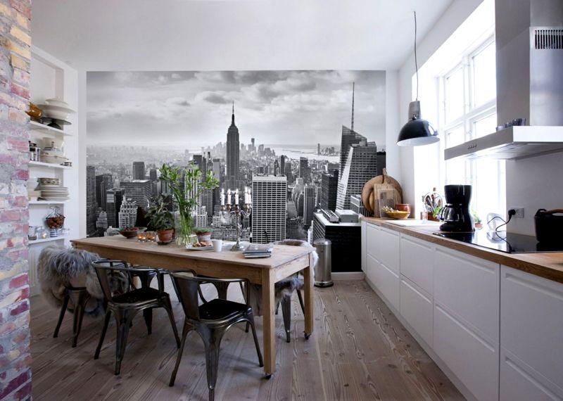 Фотообои, от небольших стикеров до изображений во всю стену
