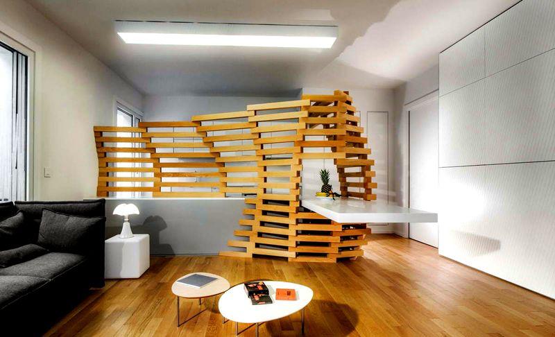 Пример сложной футуристической конструкции
