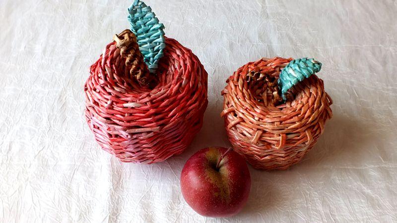 29-6 Плетение из газетных трубочек для начинающих пошагово: техника плетения, мастер класс, фото. Плетение корзин, шкатулок, коробок из газет для начинающих: схемы, загибы, фото
