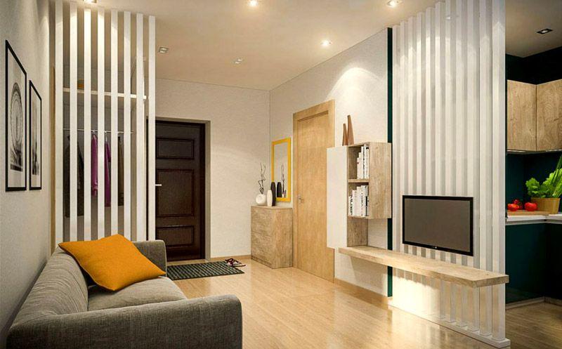 Последнее время стали популярны квартиры – студии. В большом помещении перегородки необходимы для организации трёх и более функциональных зон