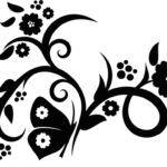 Трафареты (шаблоны) цветов для декора своими руками