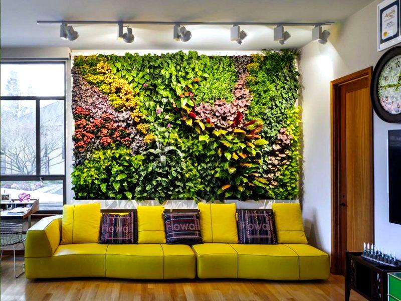 Используя растения разного окраса можно добиться весьма впечатляющей композиции