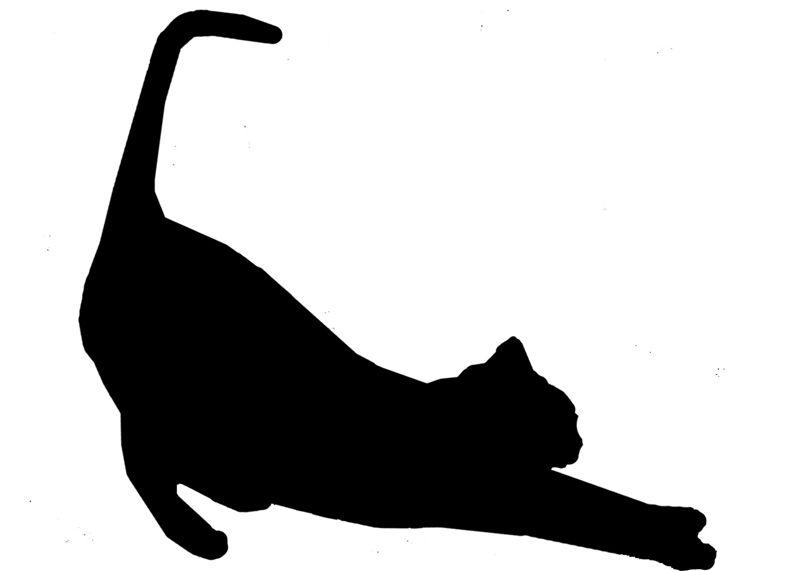Трафареты своими руками шаблоны кошки