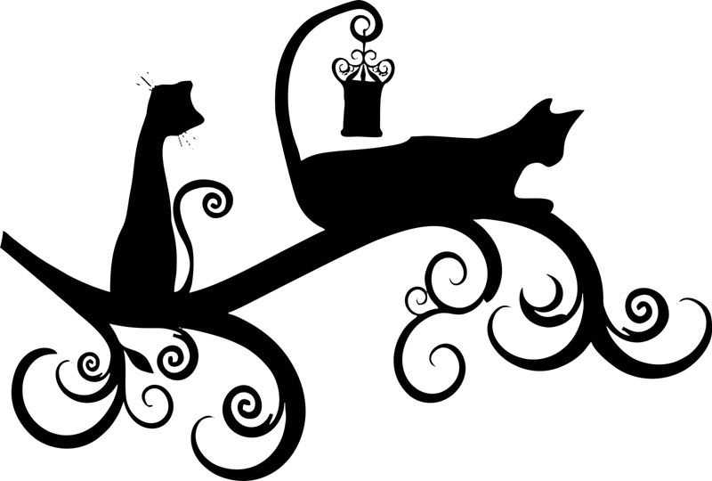 Трафареты кошка своими руками