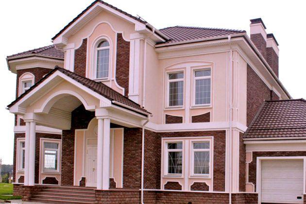 Образцы классических фасадов