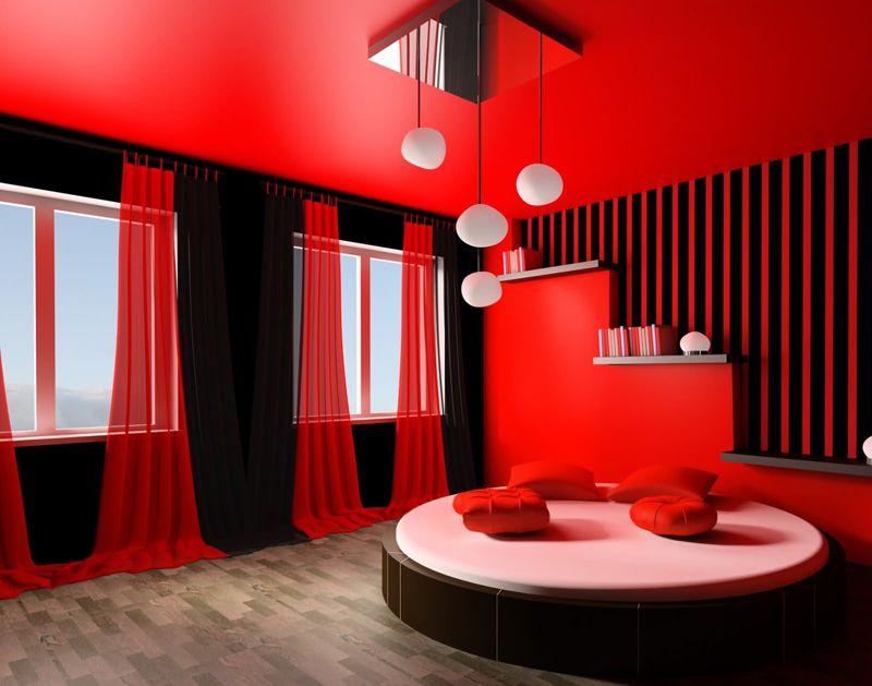 И у этого цвета есть оборотная страна – в такой комнате увеличивается выработка адреналина и человек может пребывать в постоянном возбуждении