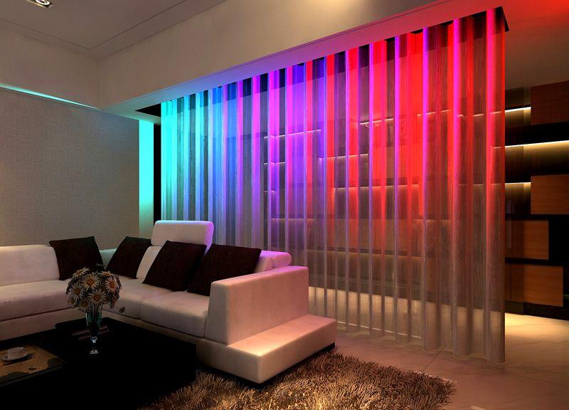 Использование светодиодной подсветки придаст впечатляющий эффект
