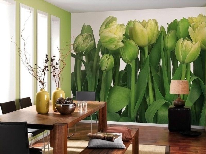 Виниловое покрытие стен подходит для кухни