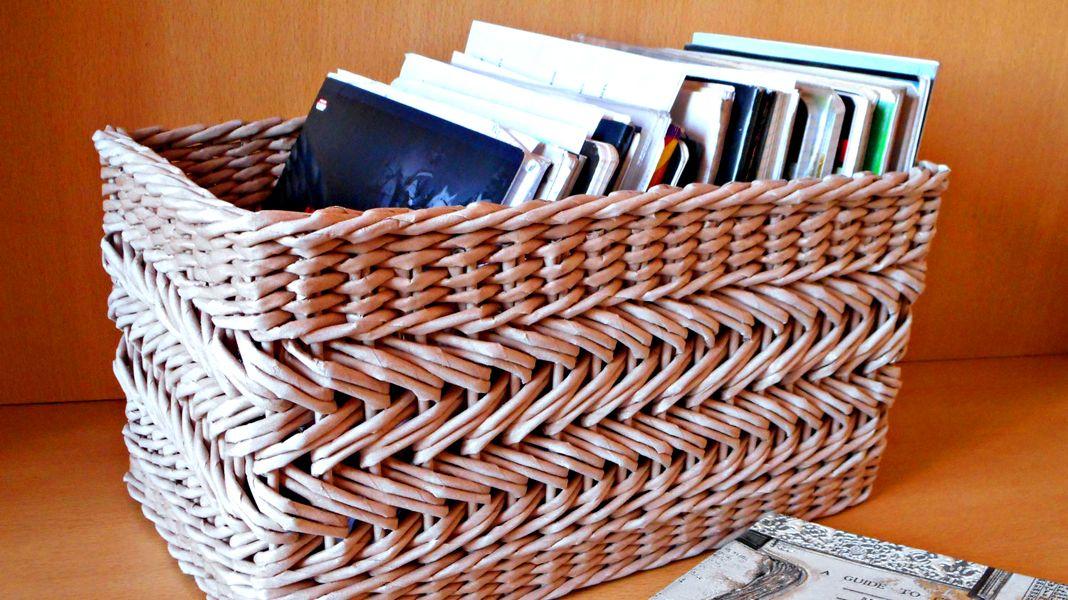 благодарностью оставляют плетение из старых газет фото вывезен последний оставшийся
