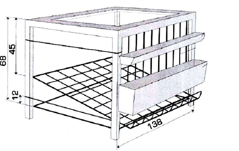 Гнездо для несушек с яйцесбоником своими руками 44