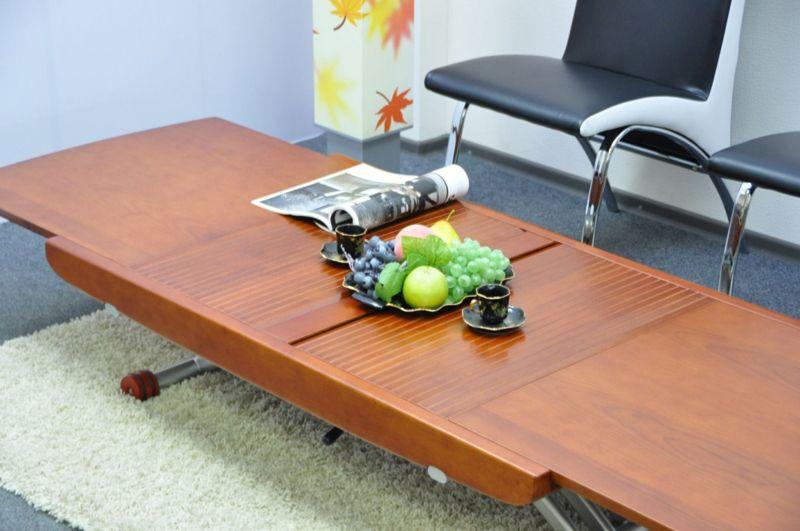 Раскладной столик с подъемным механизмом