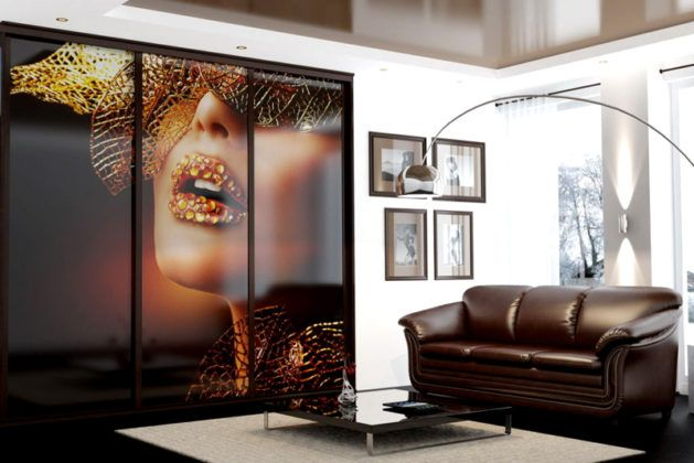 Большие стекла, это подходящая основа для нанесения изображений фотографического качества