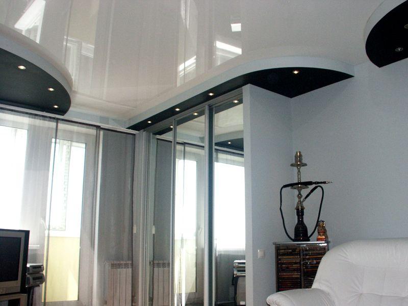 Дизайн с глянцевой поверхностью