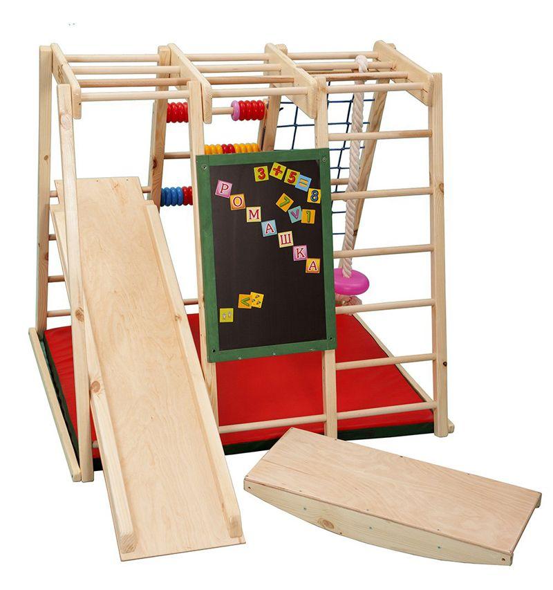 Конструкции для малышей должны быть сделаны из безопасных и натуральных материалов