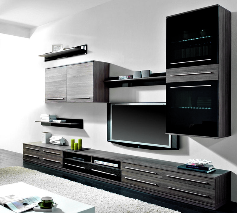 Модели стенок могут иметь облегченный вид, благодаря тому, что система состоит из отдельных блоков