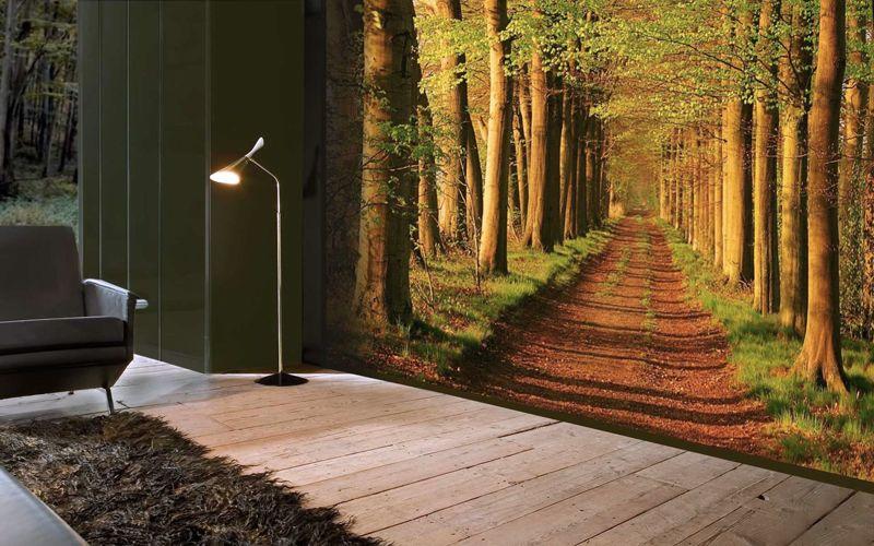 Правильно подобранной картиной в интерьере можно «расширить» имеющееся пространство