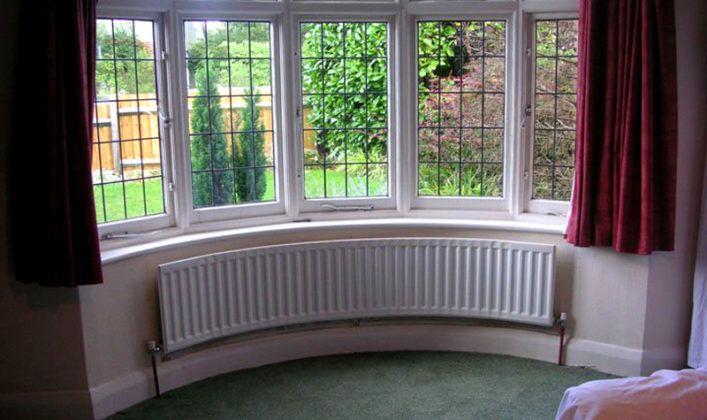 Панорамные окна для эркера