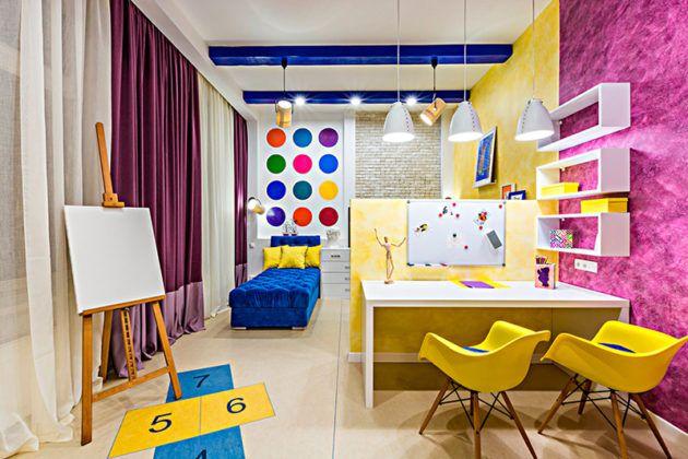 Правильная отделка детской комнаты поможет создать оптимальные условия для творчества, гармоничного развития ребенка