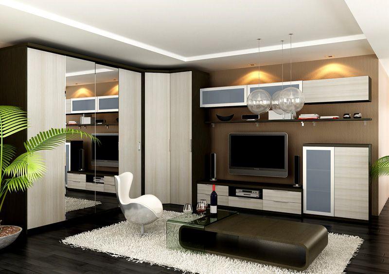 Уместно объединение с другой корпусной мебелью в единую композицию