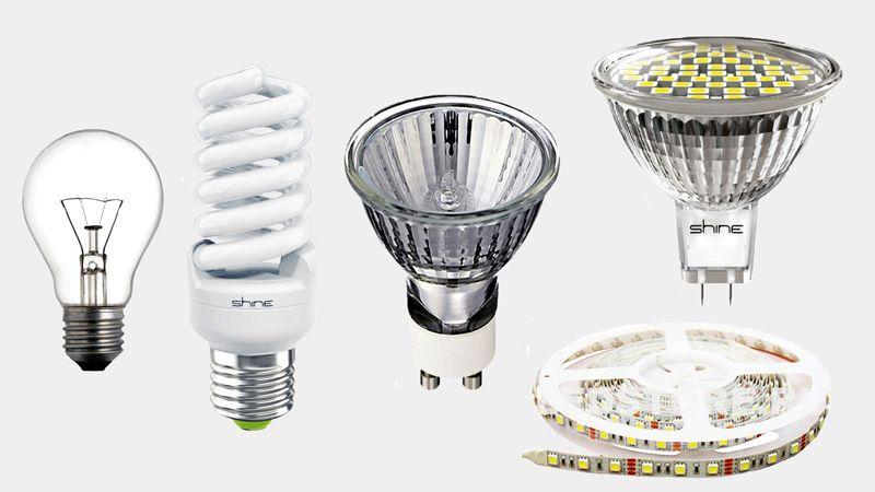 Варианты светодиодных источников освещения