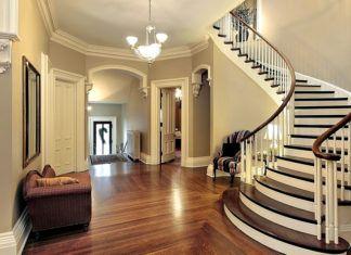 Лестницы на второй этаж в частном доме: фото