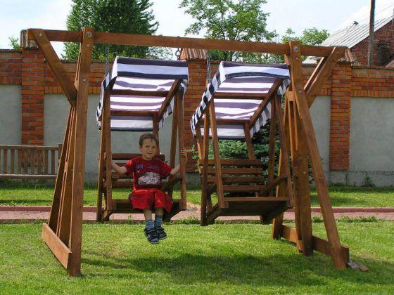 Качели детские для дачи уличные: практичные конструкции и оригинальный дизайн