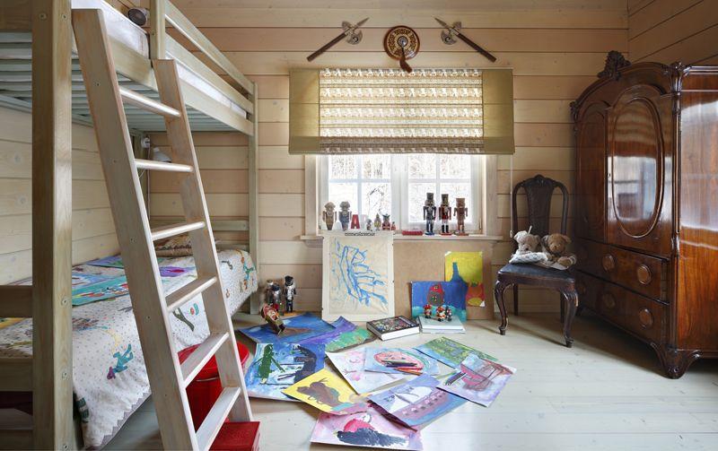 Для детей постарше стоит подобрать шторы, соответствующие их возрастным интересам