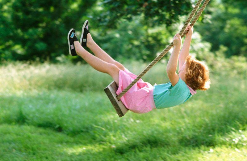 Ребенок с ранних лет учиться хорошо чувствовать равновесие