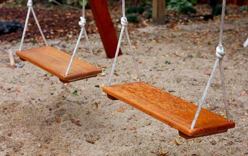Сидение для качелей своими руками из дерева