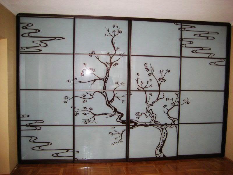 Как сделать стекло для шкафа купе