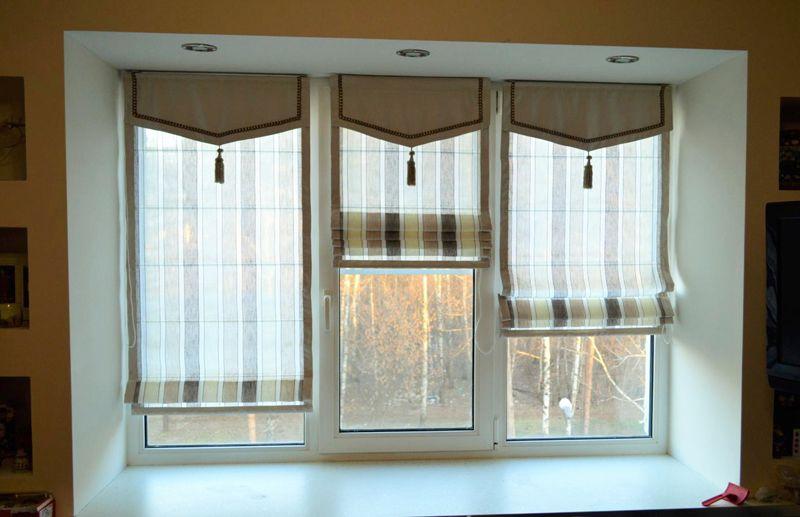 Для декорирования занавесей используют бахрому, аппликации, вставки и нежную тюль