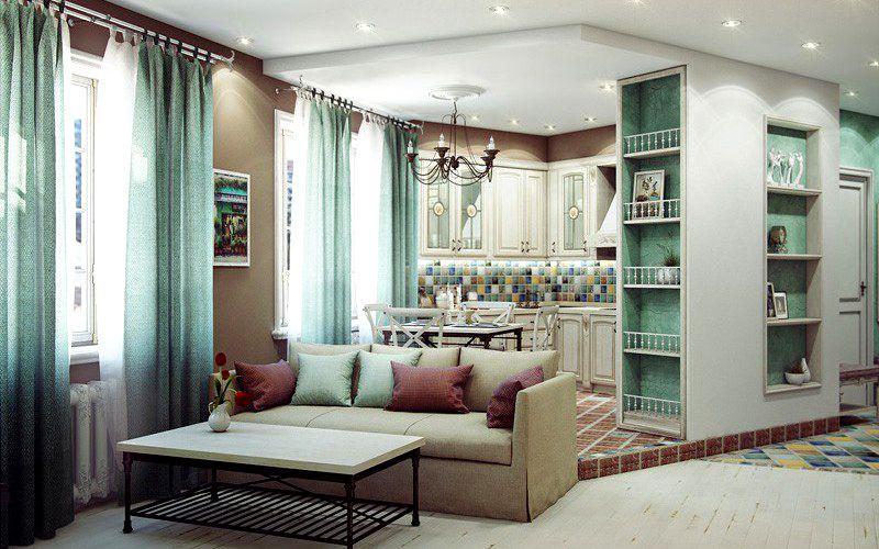 Современное жилье в стиле прованс