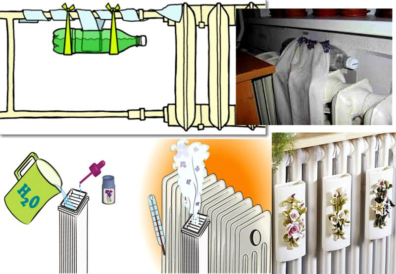 Увлажнитель для воздуха в домашних условиях