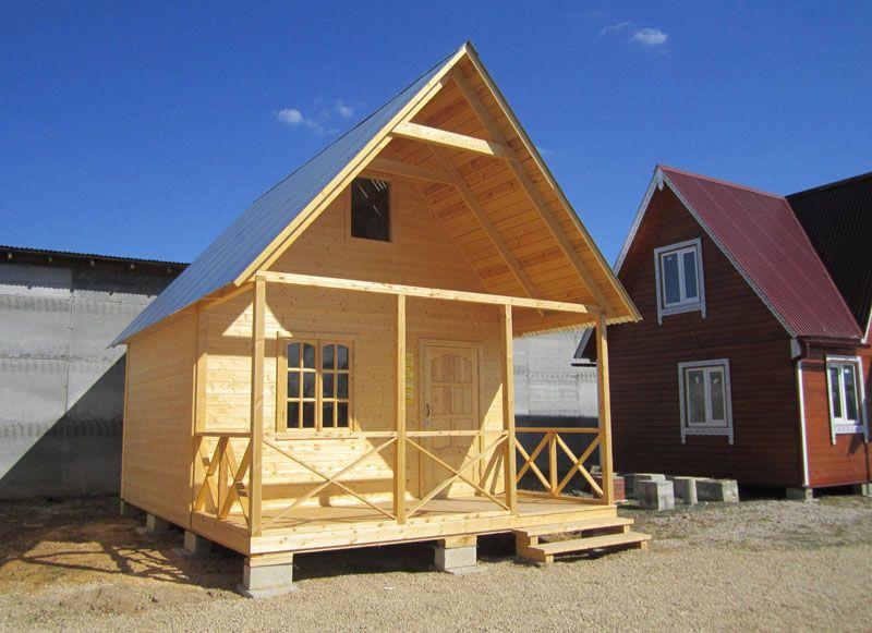 Готовый маленький домик для дачи