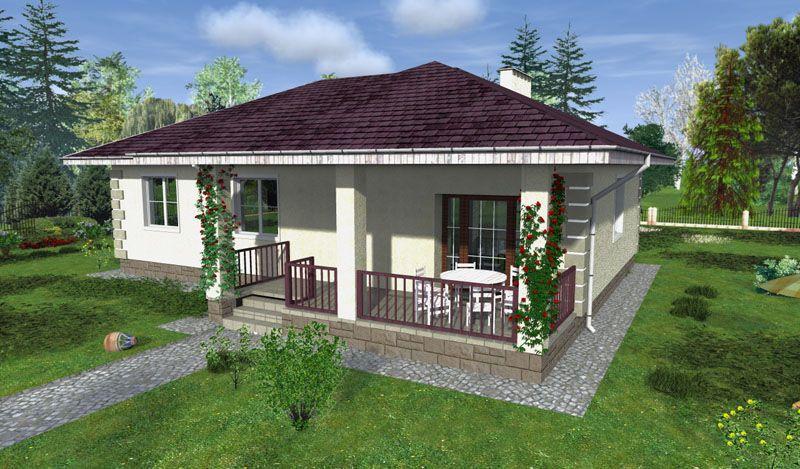3D проект дома с расположением на участке
