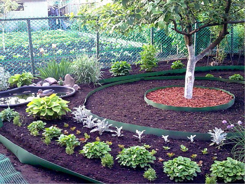 Сад бордюр своими руками